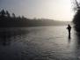 Winterliches Äschenfischen am Hochrhein